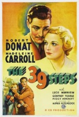 The 39 Steps (1935) first entered on 1 March 1999