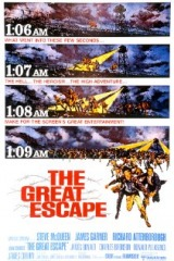 The Great Escape (1963) moved from 129. to 130.
