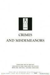 Crimes and Misdemeanors (1989) first entered on 26 April 1996