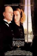 The Remains of the Day (1993) first entered on 26 April 1996