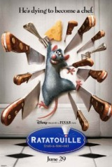 Ratatouille (2007) moved from 136. to 138.