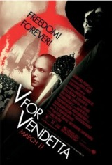 V for Vendetta (2005) moved from 145. to 138.