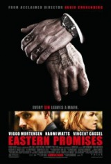 Eastern Promises (2007) first entered on 27 September 2007