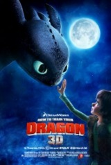 How to Train Your Dragon (2010) moved from 176. to 175.