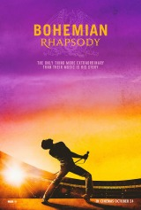 Bohemian Rhapsody (2018) first entered on 3 November 2018