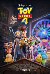 Toy Story 4 (2019) first entered on 25 June 2019