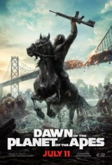 Dawn of the Planet of the Apes (2014) moved from 227. to 232.