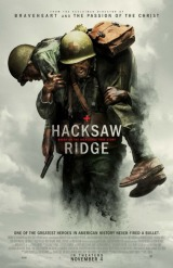 Hacksaw Ridge (2016) moved from 160. to 167.