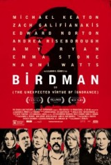 Birdman (2014) moved from 180. to 190.