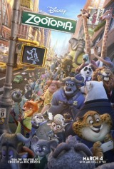 Zootopia (2016) first entered on 13 March 2016