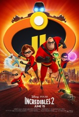 Incredibles 2 (2018) first entered on 22 June 2018