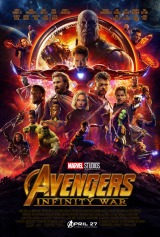 Avengers: Infinity War (2018) first entered on 26 April 2018