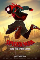 Spider-Man: Into the Spider-Verse (2018) has 16,739 new votes.